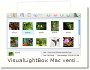 Flickr Slideshow Mac version - Main Window